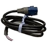SIMRAD BSM-1 Adapter Cable, MFG# 000-10046-001, adapts transducers to 7 pinblue connector used on BSM-1. Bare wires at one end. / SIM-000-10046-001 /