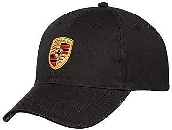 Genuine Porsche Hat Crest Cap OEM Black WAP5900010J