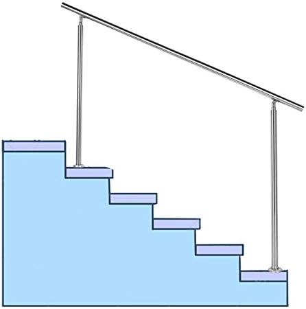 手すりステンレス鋼、屋内および屋外用壁用手すり、高齢者の子供および身体障害者用の安全な滑り止め階段の手すり、立ち上がり補助、滑りにくい安全