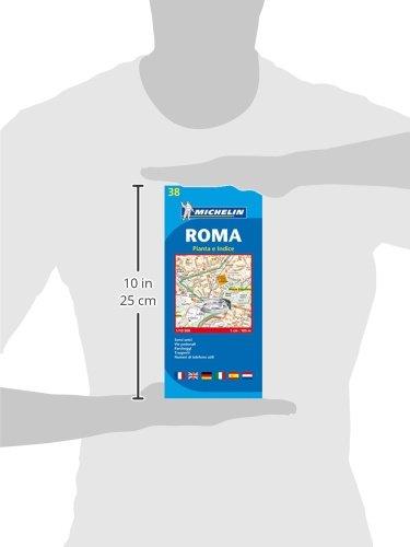 Plano Plegable Roma (Planos Michelin): Amazon.es: Vv.Aa: Libros en idiomas extranjeros