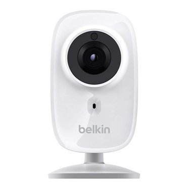 Belkin NetCam HD+ Wi-Fi Camera with Night Vision - White (Certified Refurbished)