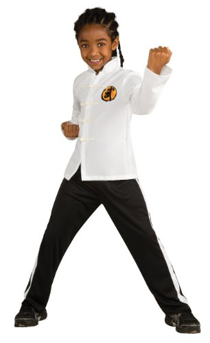 Lets Party By Rubies Costumes Deluxe Karate Kid Child Costume/White - Size Large -