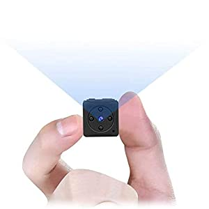 Flashandfocus.com 31SNChYb3mL._SS300_ Mini Spy Camera Wireless Hidden, MHDYT Full HD 1080P Portable Small Covert Home Nanny Cam with Motion Detection and…