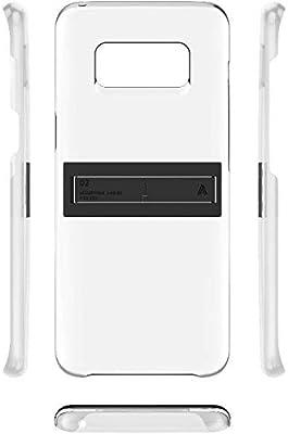 purchase cheap 33c3d 09e21 Samsung Galaxy S8 plus Kicktok Back Cover Transparent: Amazon.ae ...