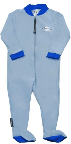 (Stingray Australia Baby Sun Suit with Feet - UV Sun Protection Sunsuit for Infants (12-24 Months, Blue))
