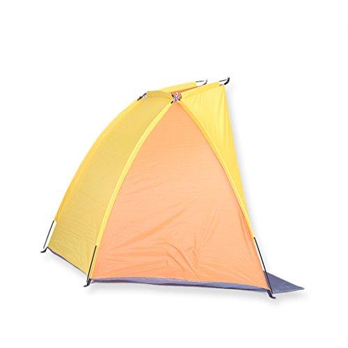 広々とした通りサーカス手作りのテント、屋外釣りテントシェルター、ポータブルサンバイザー(サイズ:47 * 47 * 86インチ)