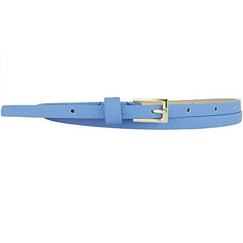 Dressy Leather Fashion Belt - 8