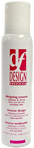 Zotos Design Freedom Designing Mousse, 5.25 Ounce (3 pack)