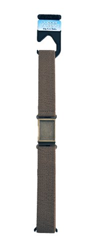 Dapper Snappers Made in USA Boys Big Kids Elastic Belt-Beige - Dapper Snapper Beige