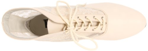 Heels Club Dame-05/BP - Botas para mujer Blanco (Ivory Pu Lace)