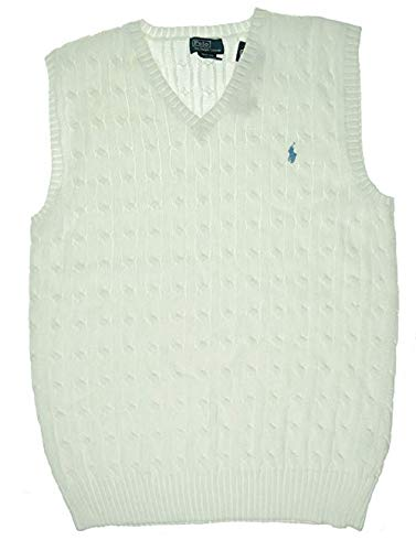 RALPH LAUREN Boys > Sweaters > Cable-Knit Cotton Sweater - Sweater Boys Ralph Lauren Vest