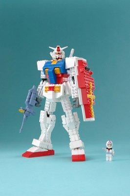 Mega Block: Gundam RX-78-2 Gundam Lego Block