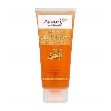 Ayuuri Natural Sándalo & Vitamina E Limpieza Facial (Equilibrio & Revitalizador para normal/piel