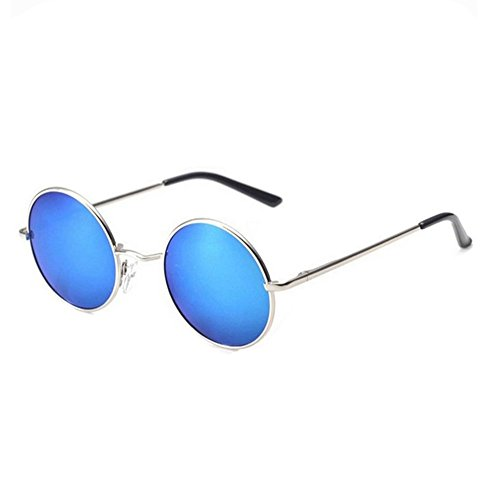 Prince polarized sunglasses UV mirror round glasses (Oval Cartier Glasses)