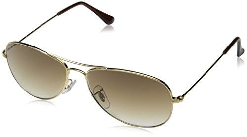 Ray-Ban COCKPIT - ARISTA Frame CRYSTAL BROWN GRADIENT Lenses 56mm Non-Polarized