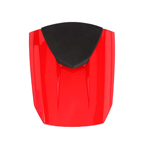 Motorcycle Rear Seat Cowl Passenger Pillion Fairing Tail Cover For For Honda CBR600RR F5 2013-2017(Red)