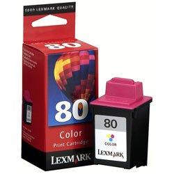- Lexmark Cartridge No. 80 - Print cartridge - 1 x color (cyan, magenta, yellow)
