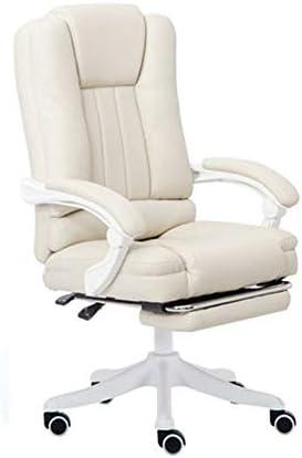 事務用椅子 女性女の子ピンク/ベージュ色のコンピュータチェアライブチェアアンカー快適な学生オフィスの椅子Esportsも椅子ゲームのボスホームスイベルチェア 座面調節 勉強用 おしゃれ (Color : Beige, Size : 110x65x65cm)