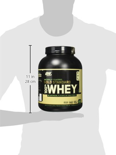 OPTIMUM NUTRITION GOLD STANDARD 100% Whey Protein Powder, Naturally Flavored, 4.8 Pound by Optimum Nutrition (Image #11)