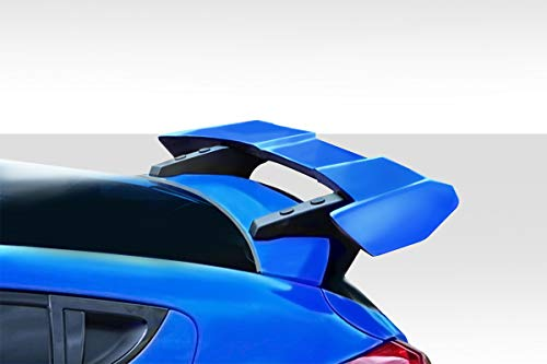 Duraflex Replacement for 2012-2017 Hyundai Veloster MR Wing Spoiler - 3 - Piece Spoiler 3 Wing