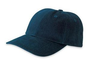 Port Authority Brushed Twill Cap, Navy, ()