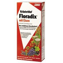 Salus-Haus Floradix Iron Plus Herbs, 23 Fluid Ounce