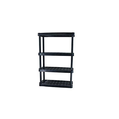Adjustable 4-Shelf Medium Duty Shelving Unit (Medium Shelving Duty)