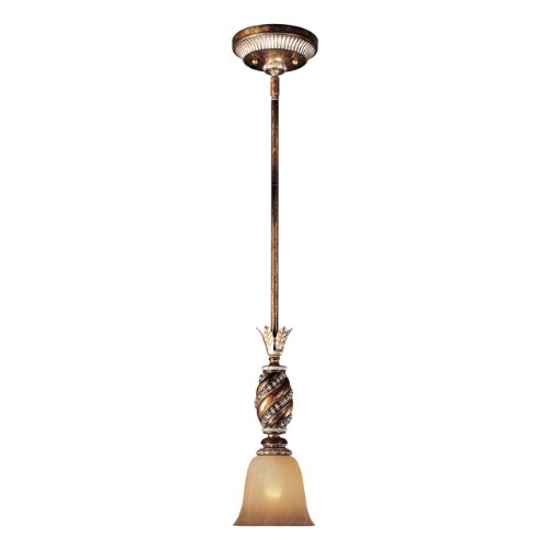 Minka Aston Court Collection (Minka Lavery 1741-206, Aston Court Mini Cone Pendant, 1 Light, 100 Total Watts, Bronze)