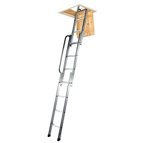 Youngman 313340 Easiway Aluminium 3-Section Loft Ladder ( Attic Ladder):  Amazon.in: Home Improvement