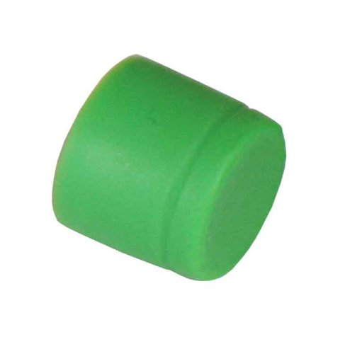 Fc Mating Sleeve (Rubber Dust Cap Covers for FC Mating Sleeve. 100 pcs/pack, Green Color)