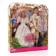 Barbie Princess Rosella Doll - Barbie (The Island Princess) Princess Rosella & Prince Antonio Royal Wedding Set
