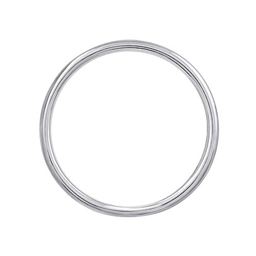 950 Platinum 1.5 mm Plain Wedding Band (Ring Size 6.5)