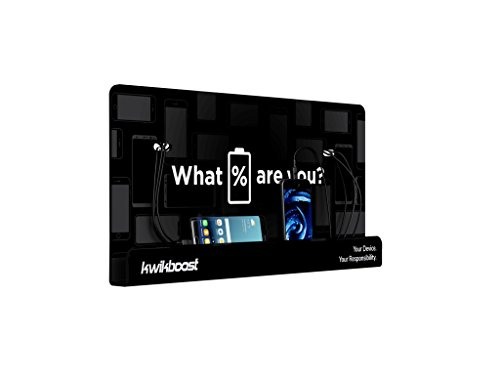 Wall Mount Cell Phone Charging Station by KwikBoost, Multi-Device Charging for up to 8 Devices including iPhone, iPad, Samsung, Tablets, and more. Great for School, Office, Business. and Events. by KwikBoost (Image #1)