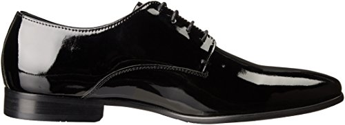 Gordon Rush Mens Manning Lace-Up Oxford Black Patent SmsLsVYdYV