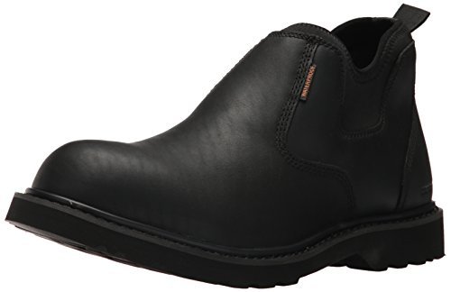 Carhartt CMS4191 Men's Waterproof Black Romeo Soft Toe Work Boot, 9 M US