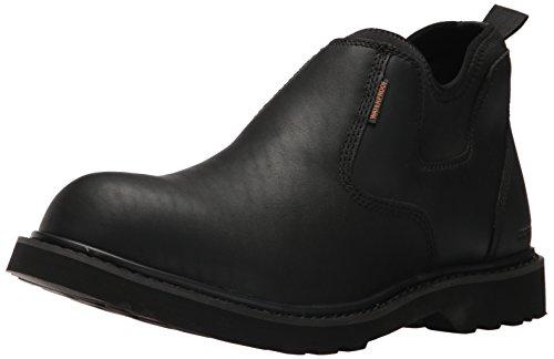 - Carhartt CMS4191 Men's Waterproof Black Romeo Soft Toe Work Boot, 9 M US