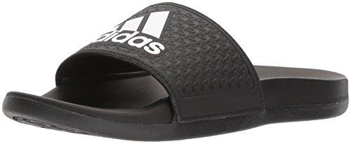 adidas Unisex-Kids Adilette Clf+ K Sandal,core black,White, core black,6 M US Big Kid by adidas (Image #1)