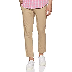 Amazon Brand – House & Shields Men's Slim Fit Casual Trousers