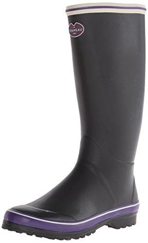 Le Chameau Skor Kvinna Monceau Boot Svart / Violett