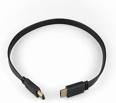 LWWVersión HDMI 1.4 Cable plano para Samsung SONY Smart LED HDTV, Apple TV, DVD y Blu-Ray, PS2 / 3 y más (1,5 m, Negro): Amazon.es: Electrónica