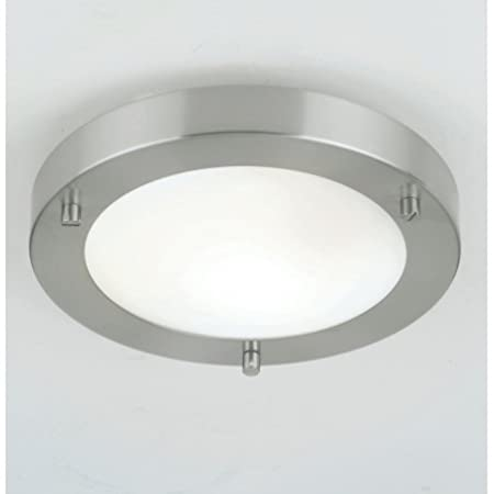 Endon ELBSW Light Modern Low Energy Bathroom Flush - Low energy ceiling lights for kitchen