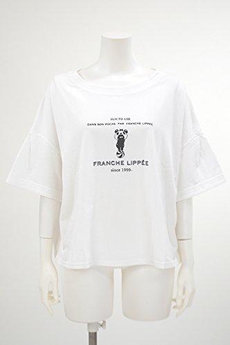 ガロン性差別言い換えると(フランシュリッペ Lサイズ) franche lippee*Lsize 玉乗りパンダクマぷっくりTシャツ【3L(FL5)】