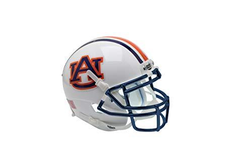 - Schutt Sports NCAA Auburn Tigers Mini Authentic Football Helmet, Chrome Guard Alt. 1