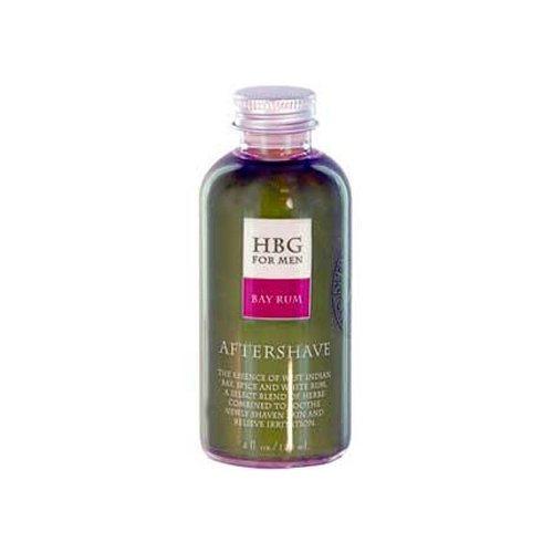 Wholesale Honeybee Gardens Herbal Aftershave Bay Rum - 4 oz, [Bathroom, Shaving/Hair Removal]
