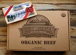 Organic Grass Fed Ground Beef Patties Value Pack (24 Six oz. Patties)