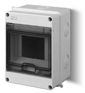 Sicherungskasten Kleinverteiler IP40 Aufputz 5 Module 1-reihig Control LUX-PLUS Kolor