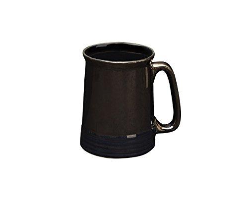 Ceramic Beer Mug Tea Coffee Milk Mug Studio Pottery Cup Handcrafted Home Kitchen Serveware (Design ()