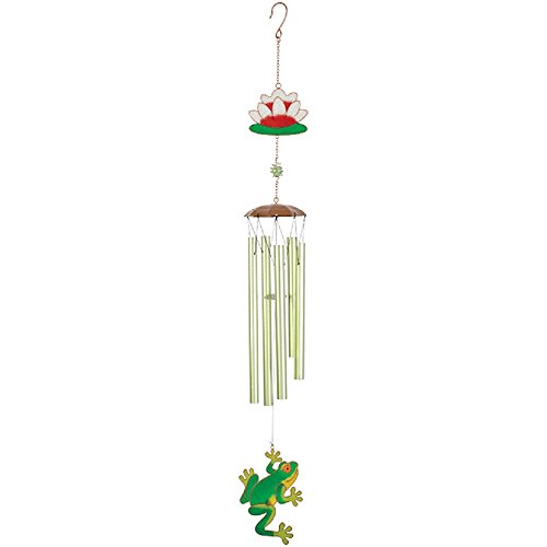 Carson Frog Wireworks Large Garden Chime