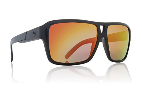 Dragon The Jam Sunglasses, Jet, Red - The Sunglasses Jam Dragon