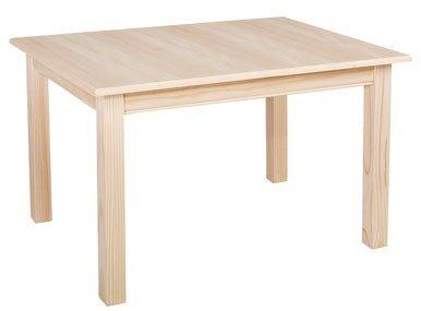 Muebles Natural - Mesa Eco Cuadrada, con pata recta, en ...